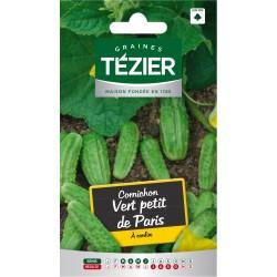 Tezier - Cornichon vert petit de paris (e,n,)
