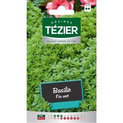 Tezier - Basilic Fin vert