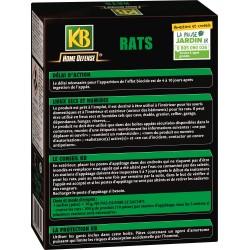 KB - Pates Appat Anti-Rats - 150gr