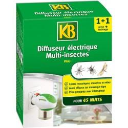 KB - Diffuseur Electrique Multi-insectes + recharge - 35 ml