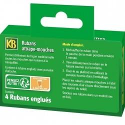KB - 4 Rubans Attrape-mouches
