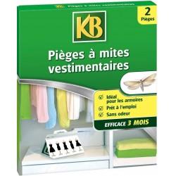 KB - 2 Pièges à Mites Vestimentaires