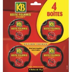 KB - Anti Fourmis Boites Appat, x4
