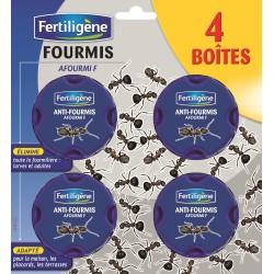 Fertiligène - Lot de 4 Boîtes appât Anti-Fourmis