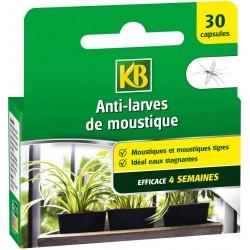 KB - Anti-Larves De Moustique, 30 pièces