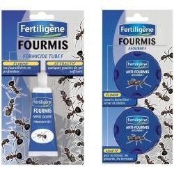 Fertiligène - Anti Fourmis (1 Tube Gel 30 GR + 2 boites Anti Fourmis)