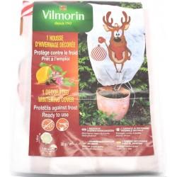 Vilmorin - Housse d'hivernage - PP - 30 g/m² - Décor Renne