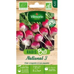 Vilmorin - Radis Bio National 3