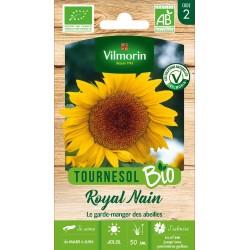 Vilmorin - Tournesol Royal Nain Bio Vl 2 Jaune