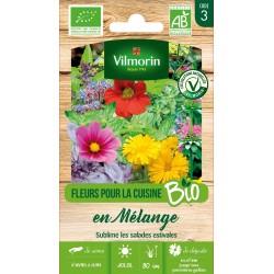 Vilmorin - Fleurs pour la Cuisine en Mélange - Bio