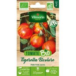Vilmorin - Tomate Tigerella Bicolore Bio