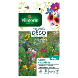 Vilmorin - Sachet graines Fleurs Mellifères en Mélange 4m2