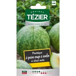 Tezier - Pastèque à graines rouge à confire (melon deau)