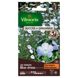 Vilmorin - Lin annuel Blue Dress - SDJ