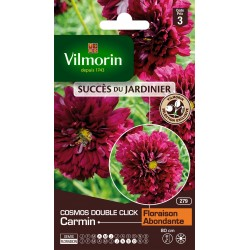 Vilmorin - Cosmos Double Clic Carmin
