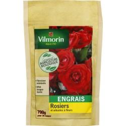 Vilmorin - Engrais Rosiers et Arbustes à Fleurs Bio Doypack de 700 Gr