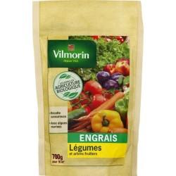 Vilmorin - Engrais Légumes et Arbres Fruitiers Bio Doypack de 700 Gr