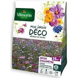 Vilmorin - Mélange Fleurs Décor Champètre 25 m2