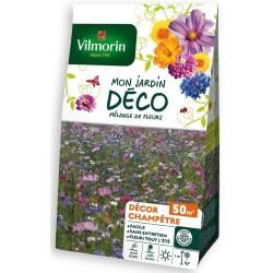 Vilmorin - Les Mélanges de Fleurs 50m2 100g de semences florales et 2