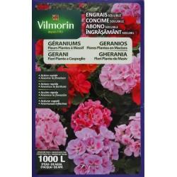 Vilmorin - Engrais Solubles Géraniums Etui de 800 g 4 LG
