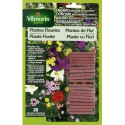 Vilmorin - Engrais Bâtonnets Nutritifs Plantes Fleuries