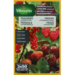 Vilmorin - Engrais Granules Fraisiers et Petits Fruits Etui de 800 g