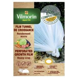 Vilmorin - Film De Croissance Perforé - Farine De Céréales -20 µm 2X4