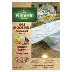 Vilmorin - Voile De Croissance - Farine De Céréales - 18 µm 2X8m