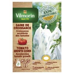 Vilmorin - Housse De Croissance Tomates - Farine De Céréales - 25 µm