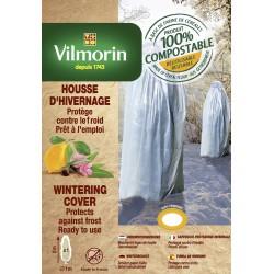 Vilmorin - Housse d'Hivernage Bio, 1,6m x 2m 35 microns