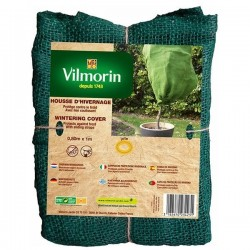 Vilmorin - Housse d'hivernage - Jute - Vert