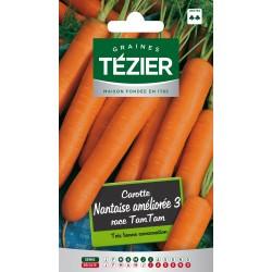Tezier - Carotte Nantaise améliorée 3 race Tam Tam