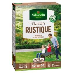 Vilmorin - Gazon Rustique, Vert, 1 kg