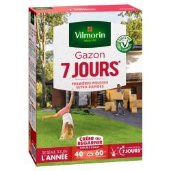 Vilmorin - Gazon 7 Jours, Vert, 1 kg