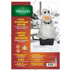 Vilmorin - Voile d'Hivernage décoré Bonhomme de Neige