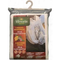 Vilmorin - Lot 3 Housses HIVER ZIP - 1 m x 1,60 m
