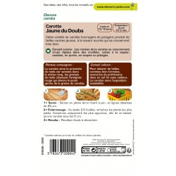 Vilmorin - Carotte Jaune Obtuse Du Doubs