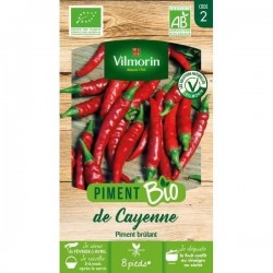 Vilmorin - Piment de Cayenne BIO
