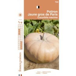 France Graines - Potiron Jaune Gros de Paris