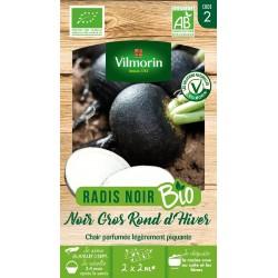 Vilmorin - Radis Noir Bio