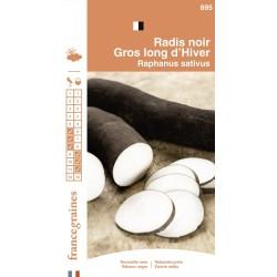 France Graines - Radis Noir Long D'Hiver