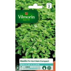 Vilmorin - Basilic Fin Vert Compact