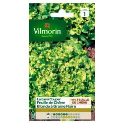 Vilmorin - Laitue à couper Feuille de Chêne blonde (graines noires)