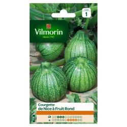 Vilmorin - Courgette de Nice à Fruit Rond