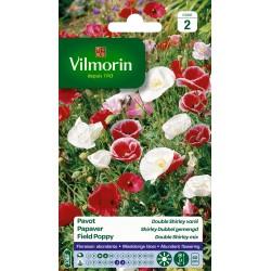 Vilmorin - Pavot Dbl Shirley Mix