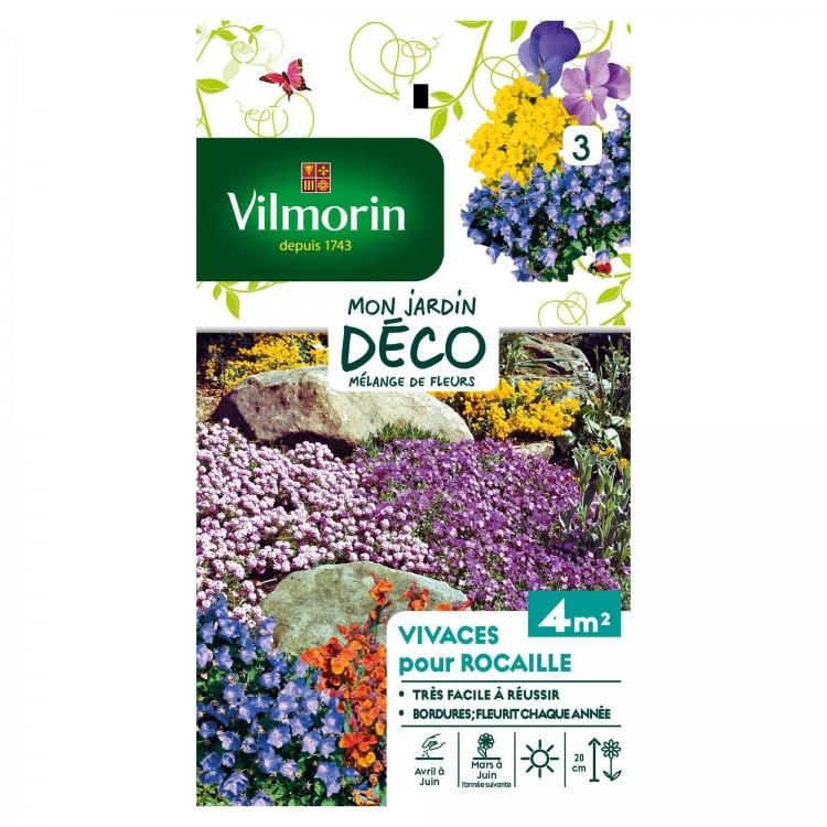Vilmorin - Fleurs Vivaces Rocaille Mélange