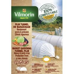 Vilmorin - Film Tunnel De Maraîchage - Farine De Céréales - 45 µm