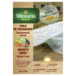 Vilmorin - Voile De Croissance - Farine De Céréales - 18 µm 2X4m